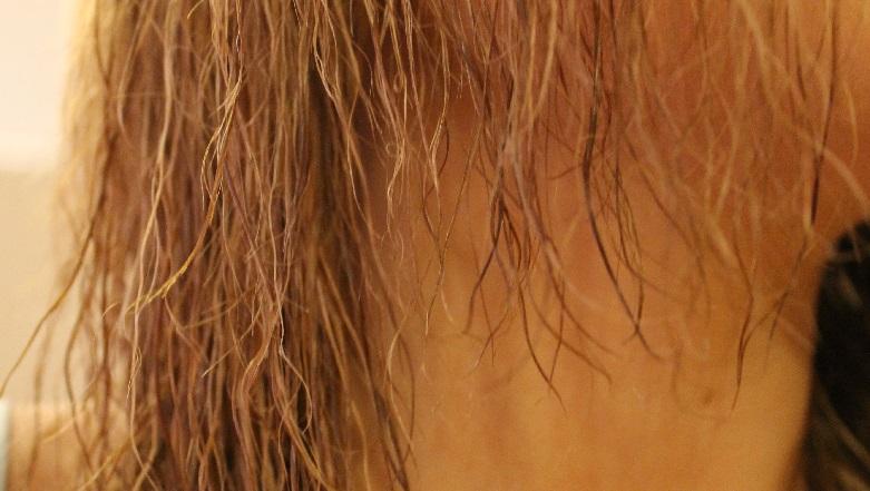 fried hair